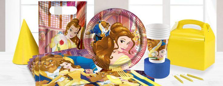Belle en het beest feestartikelenen versiering voor een verjaardag. Vanaf vrijdag te koop bij Feestwinkel Altijd Feest.