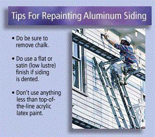 32 Best Images About Aluminum Siding Paint It On