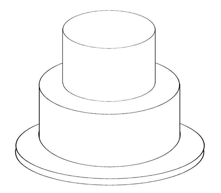 Best 25+ Two Tier Cake Ideas On Pinterest