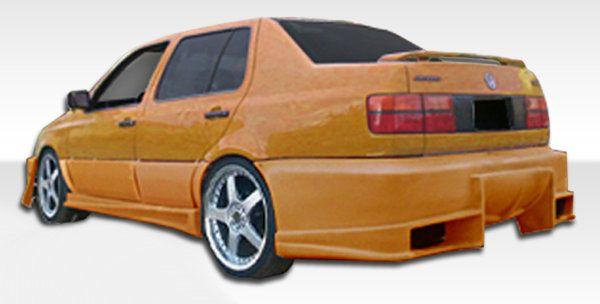 Duraflex 93-98 Volkswagen Jetta Bomber 2 Rear Bumper Cover Kit