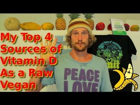 Vitamin D is something to be concerned even if you are NOT a vegan or raw vegan, but I really loved to watch this video with Chris Kendall talking about the four main sources of vitamin D that he uses. For me the best one is the sun, but he also shares some great solutions if you live in a place where you don't have much sun light during some periods of the year. Hope you will benefit and improve your diet and lifestyle with these awesome tips.