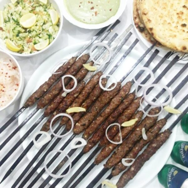Beef Seekh Kebab A spicy and extremely flavorful Beef Seekh Kebab Recipe which will surely be a hit at any BBQ party. Must try this Beef Seekh Kebab Recipe and don't forget to share your experience with us!! Check it out the  Beef Seekh Kebab Recipe here!! [divider] [one_fourth]Prep Time:10 minutes + marination[/one_fourth] [one_fourth]Cook Time:15 minutes[/one_fourth] [one_fourth]Servings: …