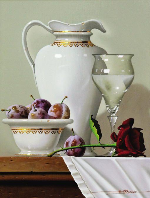 Realistic Still Life Paintings By Spanish Artist Javier Mulio - Fine Art Blogger