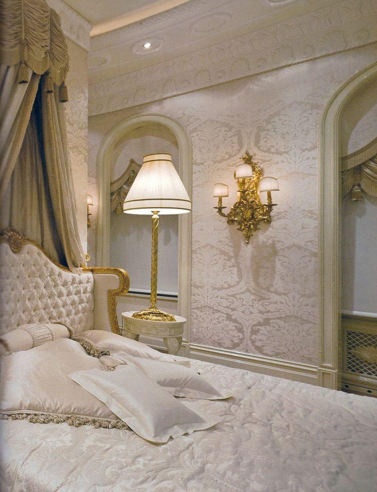 Elegant Bedroom + White Palette