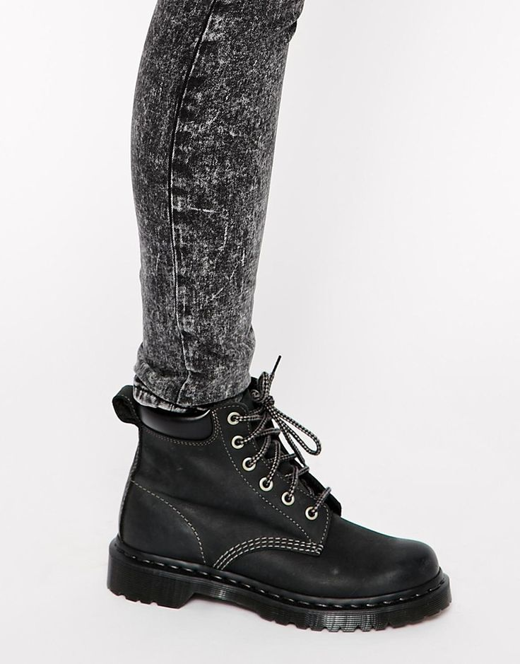 Image 4 of Dr Martens Core 939 Black Hiking Boots