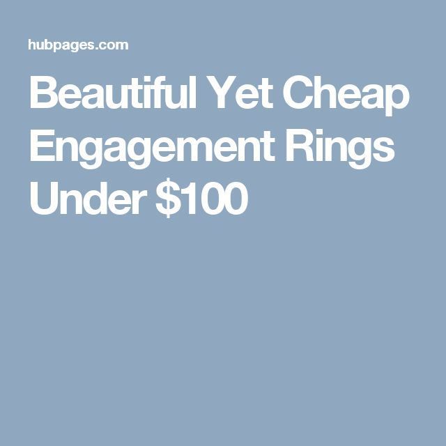 Best 25 Engagement rings under 100 ideas on Pinterest