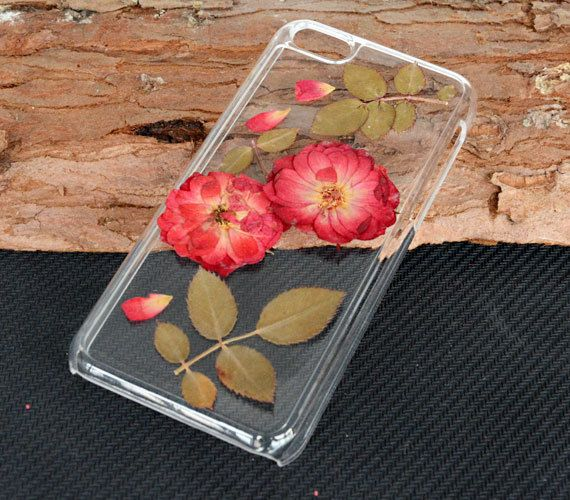 Pressed flower iPhone caseDried Real flower iPhone by UUniquecase