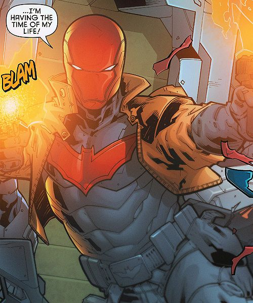 """Jason Todd(Red Hood) """"I'm Having the Time of My Life!"""""""
