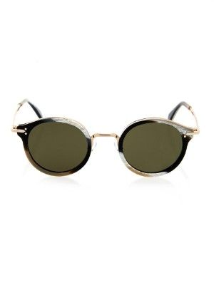 Round-framed acetate sunglasses | Céline Sunglasses | MATCHESFASHION.COM US