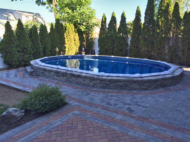 6 Foot Shrubs Can Provide Extra Privacy For Your Pool And Backyard From Neighbors Thepoolfactory Inground Pools In 2018 Pinterest Ground