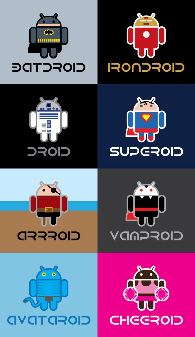 #Android #Logo #Halloween See them all including Spongebob, Adam and Zombie: http://j.mp/1bH9DIp