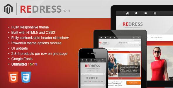 Redress - Responsive Magento Theme