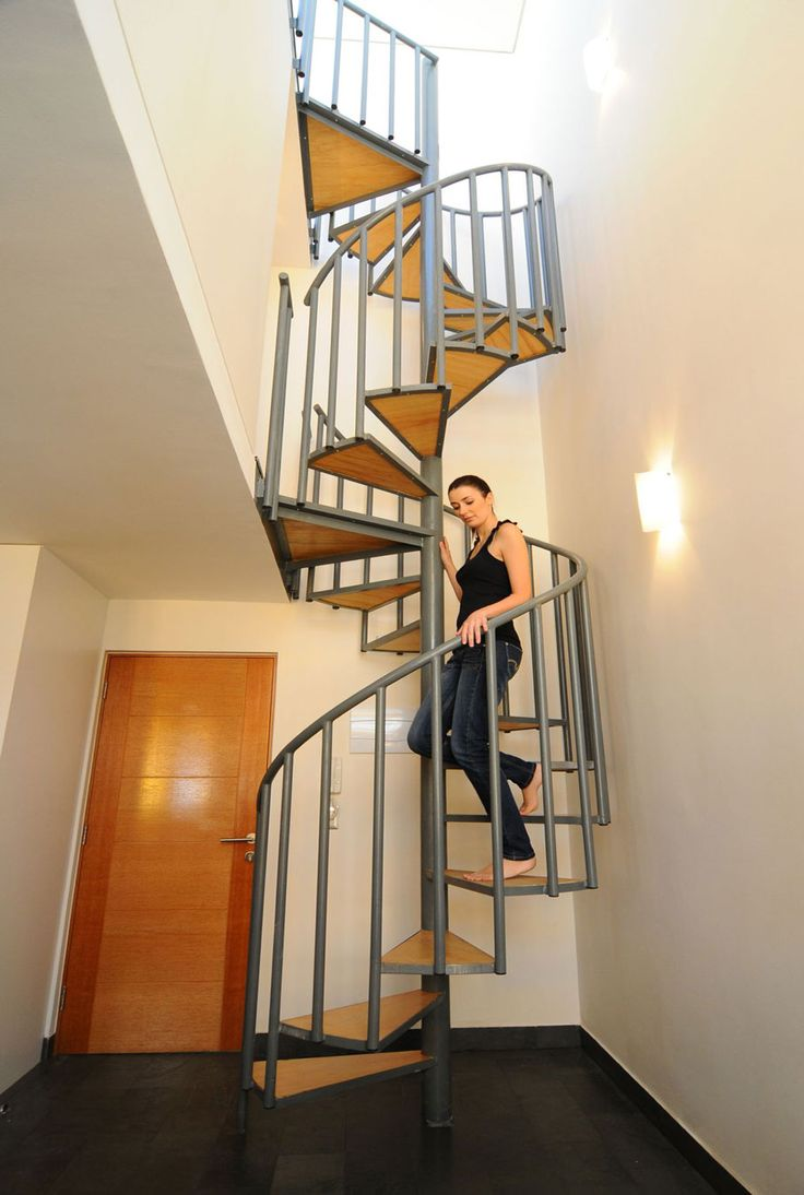 77 best spiral other stairs images on pinterest spiral for Spiral staircase options