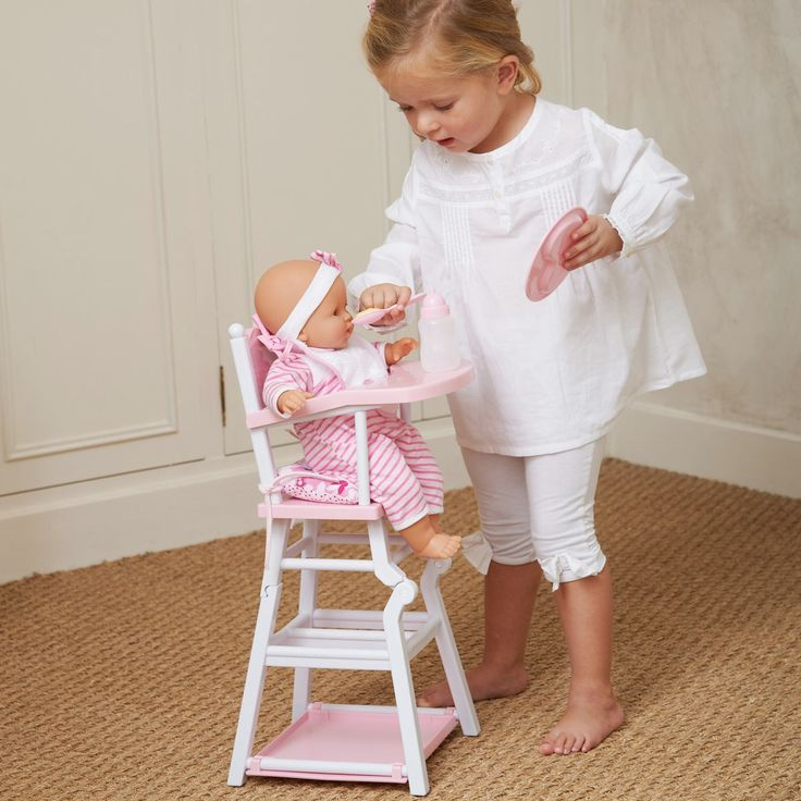 33 best images about corolle kids on pinterest doll for Chaise haute corolle