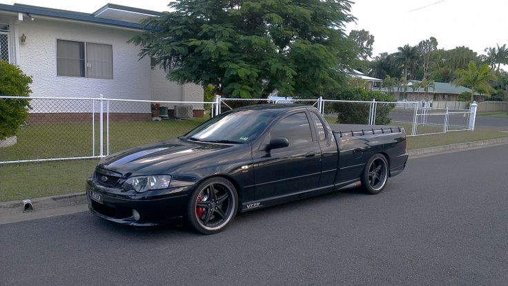 XR8 falcon ute