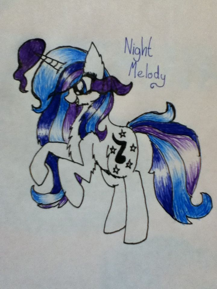 This is my new oc Night Melody.SHE'S SO FREAKIN BEAUTIFUL and she's Sombra's daughter XD.i was thinking that she could be my new main oc.Like if you think she should be my main oc, comment for Lily.also tell me your opinion please.credit:@Water Lily