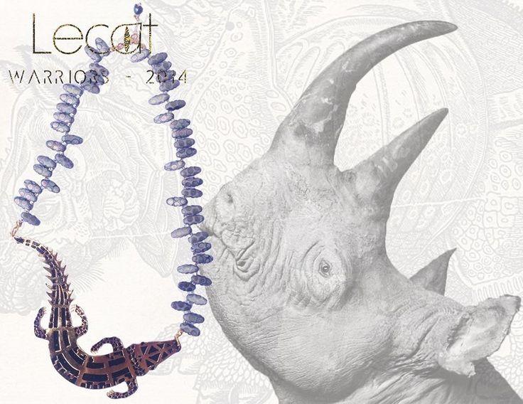 Puedes adquirir este collar en www.facebook.com/lecat.accesorios  o lecataccesories@gmail.com. |•colección WARRIORS •| cocodrile necklace / wild / feel majestic