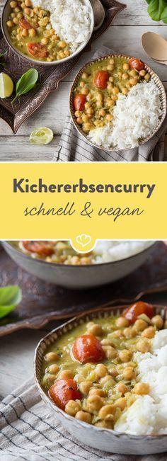 Kichererbsen sind nicht nur gesund, sondern vor allem irre lecker! In 25 Minuten bereitest du aus ihnen ein rundum gesundes Abendessen zu.