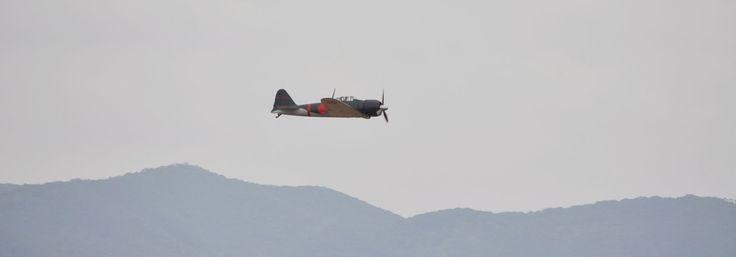 Zero Fighter Return Project in Kagoshima Airport 戦里帰りプロジェクトin鹿児島空港 零戦、鹿児島の空で初の一般公開飛行