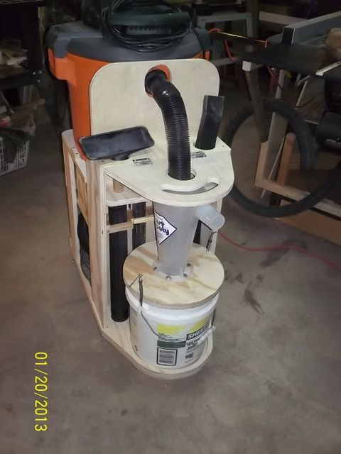 Shop Vac Cyclone Cart Plans The Shop Wood Talk Online