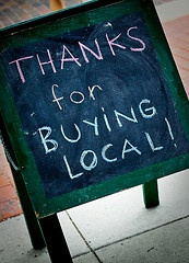 Buy local & support small businesses!