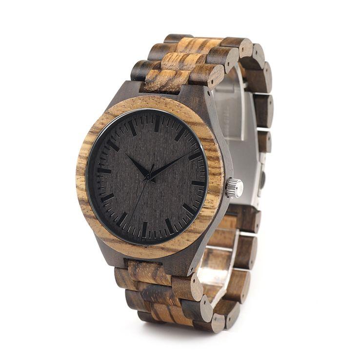 Zabra Wooden Bamboo Quartz Watch //Price: $53.23 & FREE Shipping //     #stone #trendy