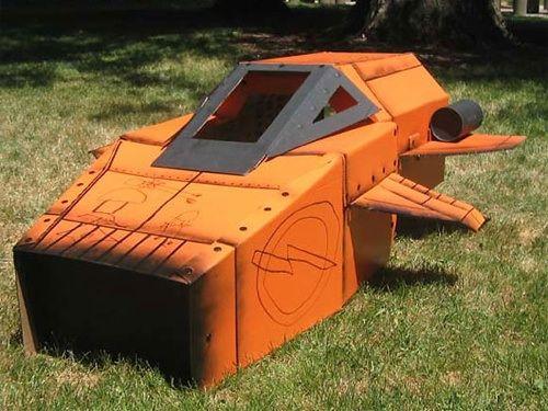 Cardboard Space Ship