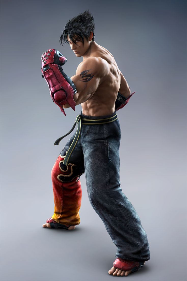 Jin Kazama is the most compelling TEKKEN character I know