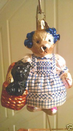 Christopher-Radko-034-MUFFY-WITH-SCOTTIE-034-Ornament-RARE-retired-vintage
