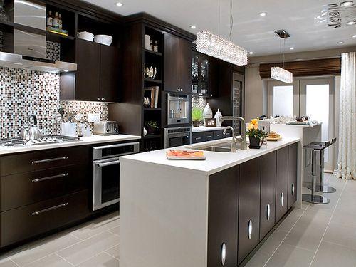 1000  ideas sobre gabinetes de cocina oscuros en pinterest ...