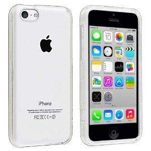 Amazon.com: eForCity Snap-in Slim Case for iPhone 5C - Retail Packaging - Clear: Cell Phones & Accessories