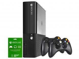 Console Xbox 360 4GB 2 Controle Wireless - Microsoft
