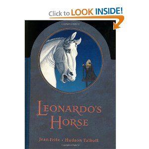 Leonardo's Horse: Jean Fritz, Hudson Talbott: 9788811580478: Amazon.com: Books