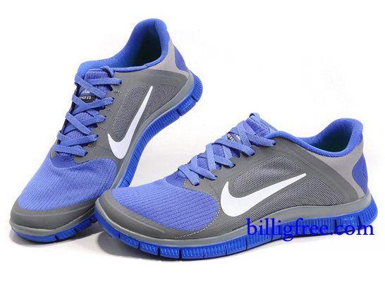 Nike Free 4.0 V3 Damen Blau