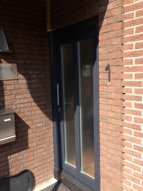 Kunststof voordeur, project in Nuenen. Diverse modellen leverbaar.