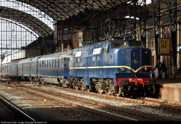 RailPictures.Net Photo: 1202 Nederlands Spoorweg Museum (NSM) Class 1200 at Haarlem, Netherlands by Marcel Vis