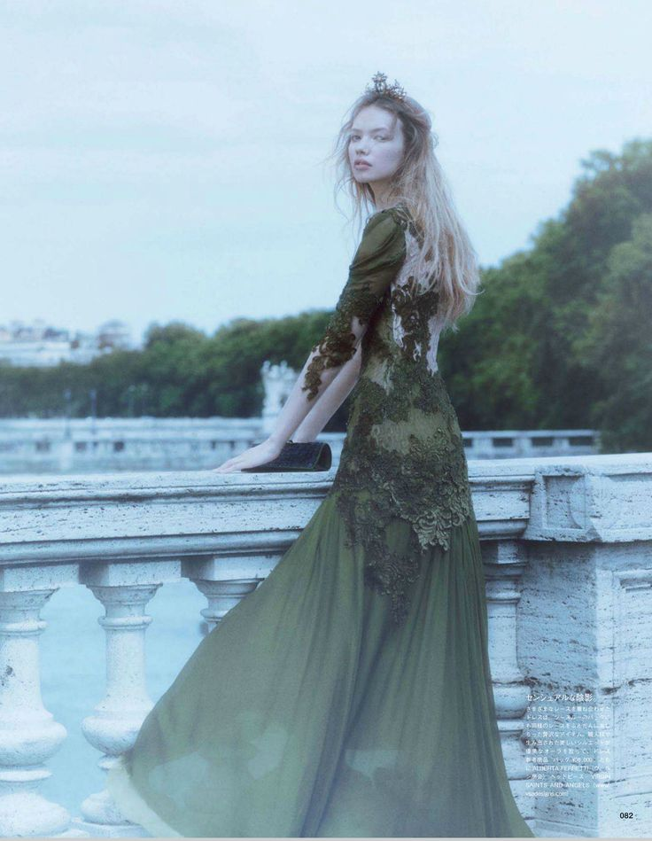 Vogue Japan September 2014   Kid Plotnikova by Laura Sciacovelli [Editorial]
