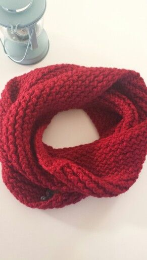 Infinity Scarf In RASPBERRY. To order, visit www.facebook.com/oopsie.daisy.scarves.cards for more info