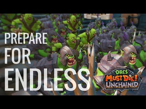 """Orcs Must Die! Unchained Adds New PvE """"Endless Mode"""" - http://www.entertainmentbuddha.com/orcs-must-die-unchained-adds-new-pve-endless-mode/"""