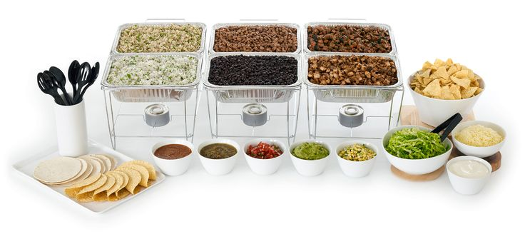 Yum!  Chipotle would be a delicious and healthy option for wedding catering!  #Chipotleweddingsweepstakes