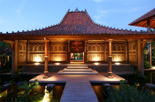 Traditional Villa House With Joglo Style Located In Seminyak