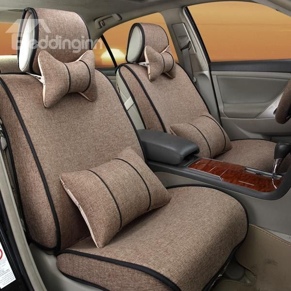Durable Solid Cool Design And Easy Breathable Performance Universal Car Seat Cover