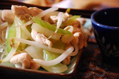 Chow mein au poulet | .recettes.qc.ca