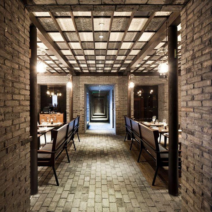 Capo restaurant _ Shortlist 2013 Restaurant & Bar Design Awards Shanghai, Cina _ 2012 by Neri & Hu Design and Research Office
