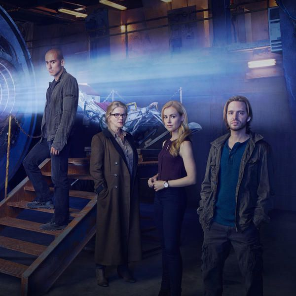12 Monkeys (TV Series) By 2043, a virus has wiped out most of the world's population. One time traveler, Cole, must journey throughout time to prevent the virus from ever happening and stop its engineers, the Army of the 12 Monkeys.
