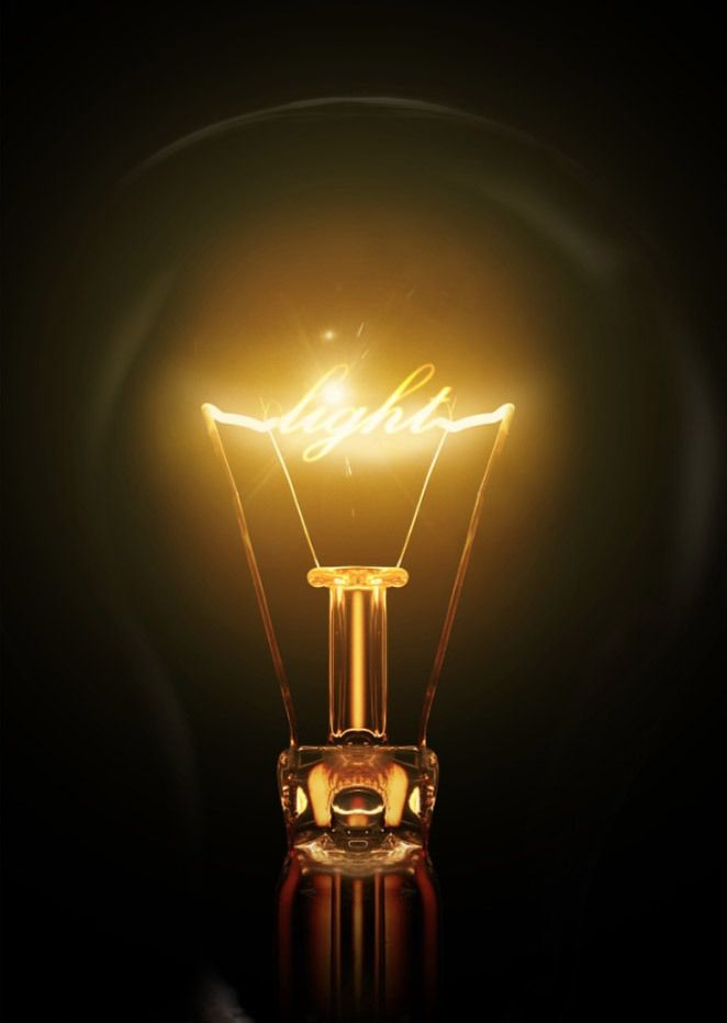 Create a light bulb text effect in Photoshop – Photoshop Roadmap