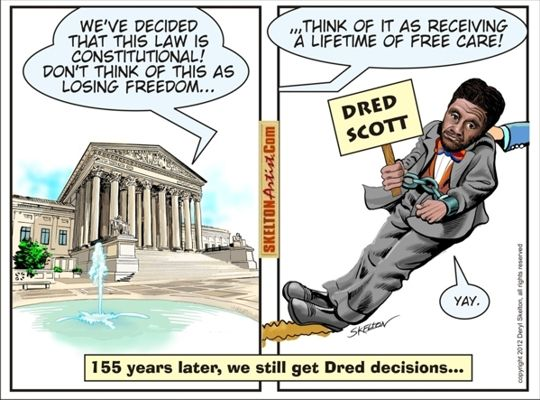 changing the course of american history the dred scott decision Based in part on the dred and harriet scott's time the dred scott decision explained: us history review crash course us history #18.