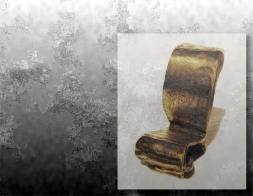 burbridge - silla de autor -   bronze mini-chair  height: 5,5 cm / width: 6 cm / depth : 3 cm