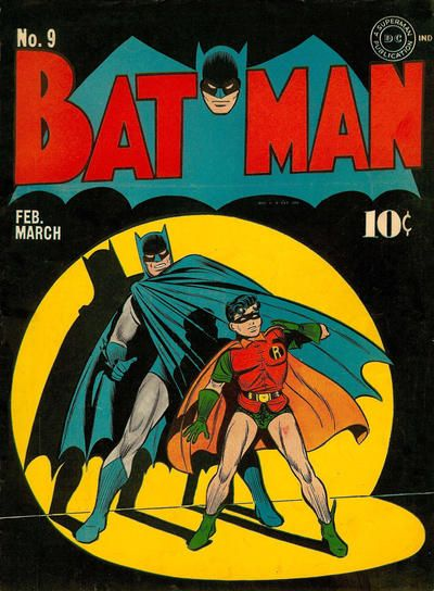 Batman #9 by Bob Kane and Jerry Robinson