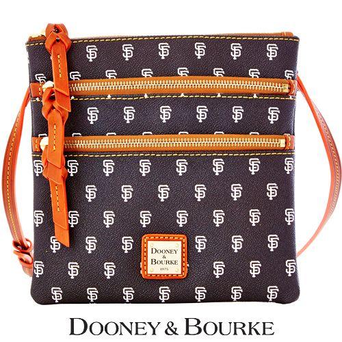 San Francisco Giants MLB Signature Triple Zip Crossbody by Dooney & Bourke - MLB.com Shop